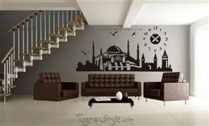 Tuğra duvar stickeri, wand-tattoo, wall sticker